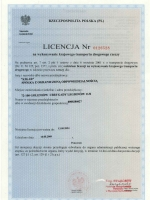 cert2 - licencja rzeczpospolita polska
