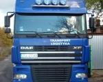 013 - ciężarówka DAF FX niebieska