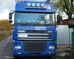 014 - ciężarówka DAF FX niebieska