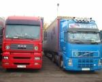018 - ciężarówki Man i DAF FH