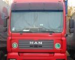 019 - ciężarówka MAN czerwona
