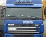 023 - ciężarówka DAF FX niebieska