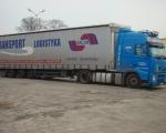 024 - ciężarówka VOLVO FH niebieska